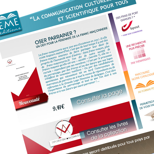Newsletter - EME Éditions