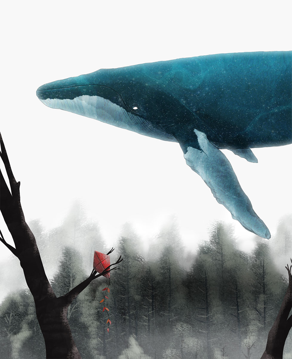 Illustration - Feeling Whale