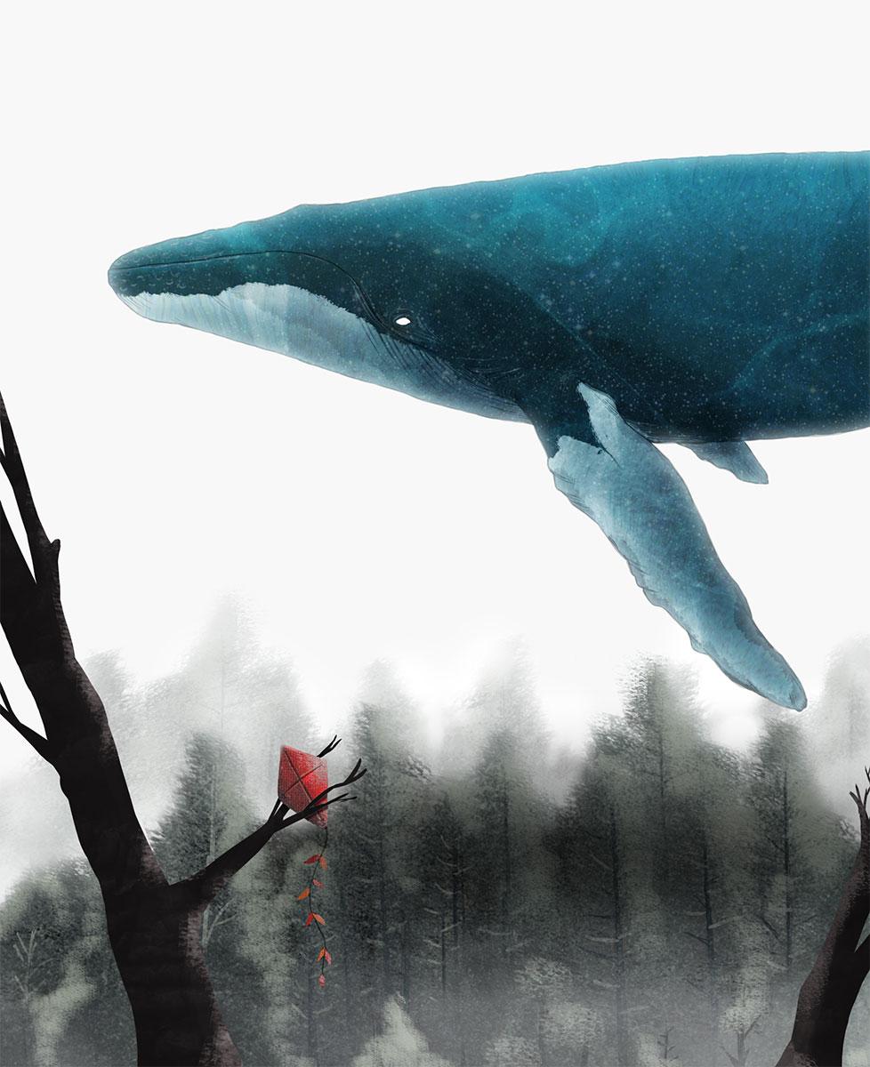 Illustration - Feeling Whale